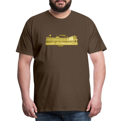Summer Madrid City Spanien Spain Palacio Real - Männer Premium T-Shirt