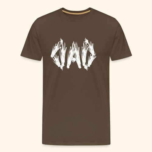 Dad white - Männer Premium T-Shirt