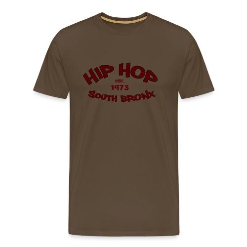Hip Hop/Est.1973/South Bronx - Men's Premium T-Shirt