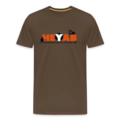 HEYAB logo - Premium-T-shirt herr