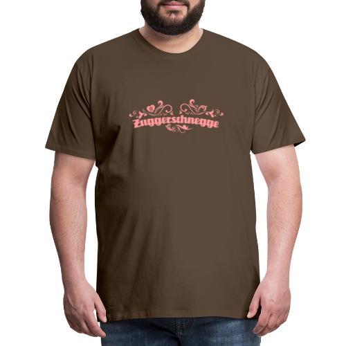 Zuggerschnegge - rosa - Männer Premium T-Shirt