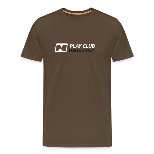logo pcr rgb 2600x900 music group05 for djs only - Men's Premium T-Shirt