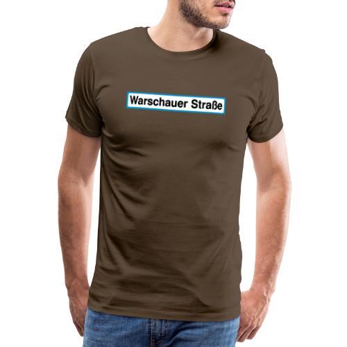 Warschauer Straße Berlin - Männer Premium T-Shirt