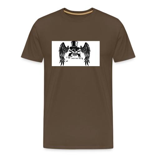 Lucky shot - Miesten premium t-paita