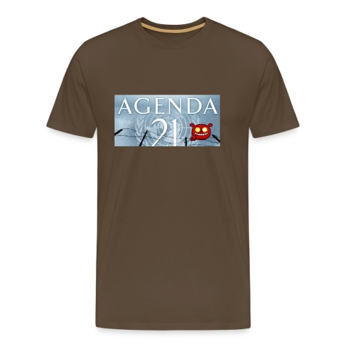 Agenda 21.bad - Men's Premium T-Shirt