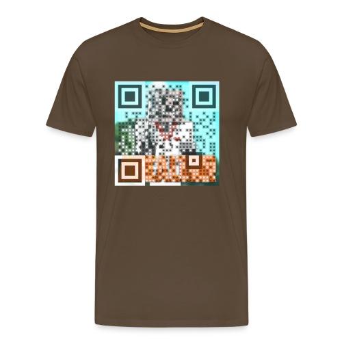qr png - Männer Premium T-Shirt