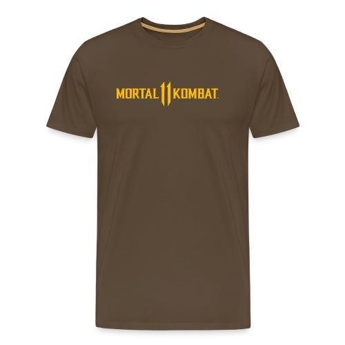 Mortal Kombat 11 logo - Men's Premium T-Shirt