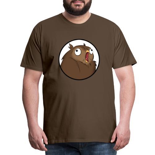 Komischer Kauz III - Männer Premium T-Shirt