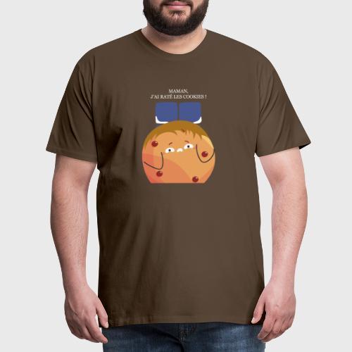 Maman, j'ai raté les cookies - T-shirt Premium Homme