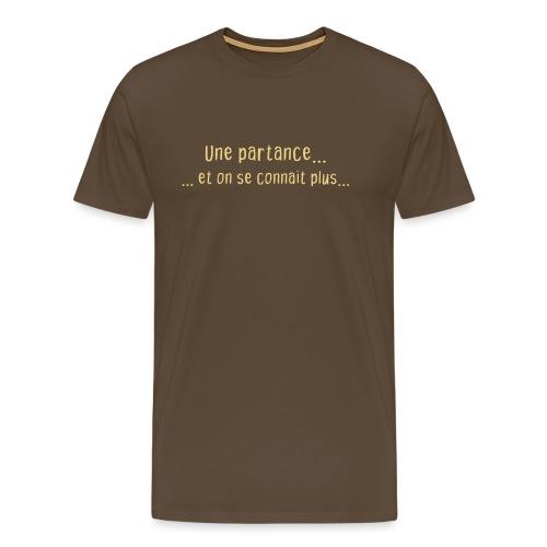partance - T-shirt Premium Homme