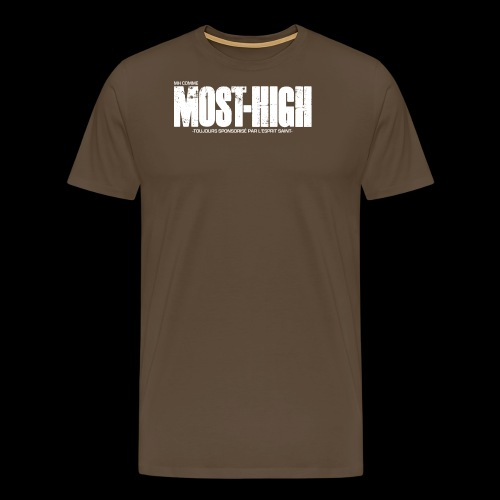 mosthigh - T-shirt Premium Homme