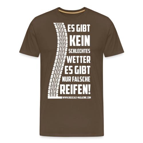 falsche reifen w png - Männer Premium T-Shirt