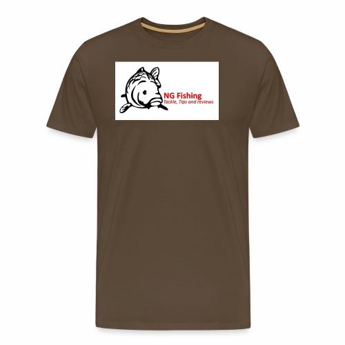 ng fishing logo new - Men's Premium T-Shirt