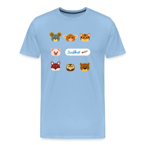Surfbrot Serie 1 - Men's Premium T-Shirt