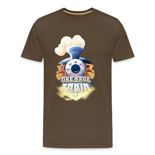 Grenade Train! - Men's Premium T-Shirt