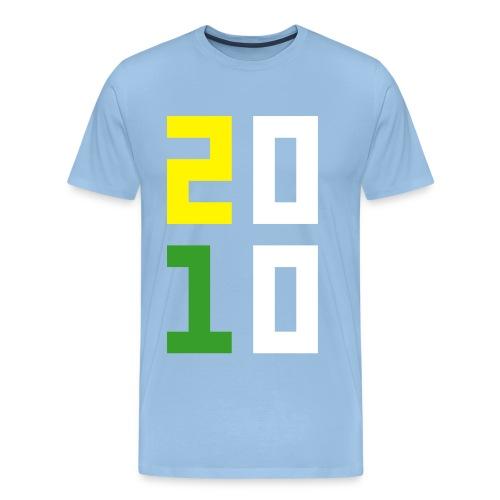 2010 - Mannen Premium T-shirt