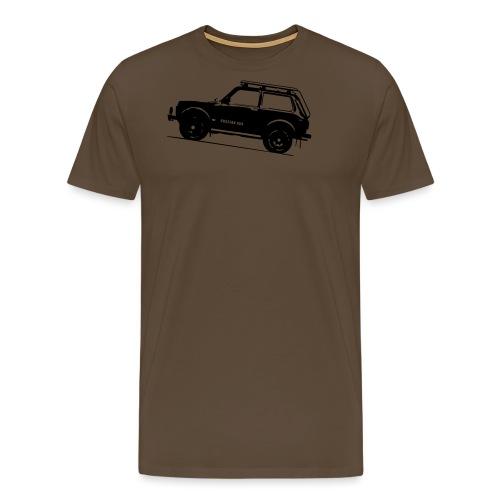 Lada Niva 2121 Russin 4x4 - Männer Premium T-Shirt