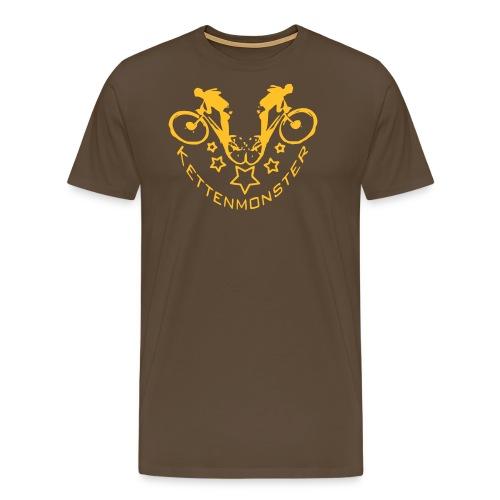 Kettenmonster Biker - Männer Premium T-Shirt