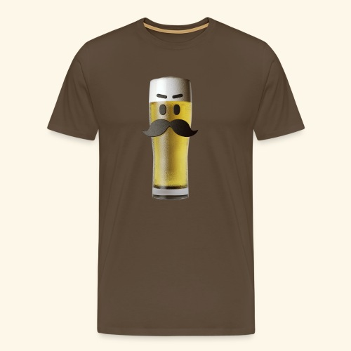 Beermoticon Mexican Lager - Men's Premium T-Shirt