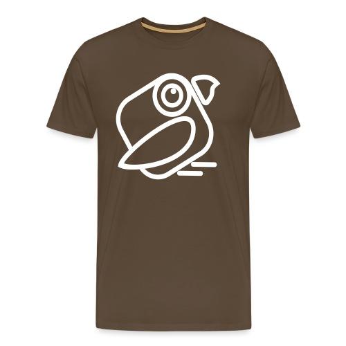 Faktor-IPS Vogel schräg - Männer Premium T-Shirt