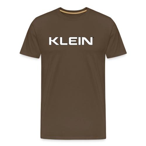 kleinschriftzug - Männer Premium T-Shirt