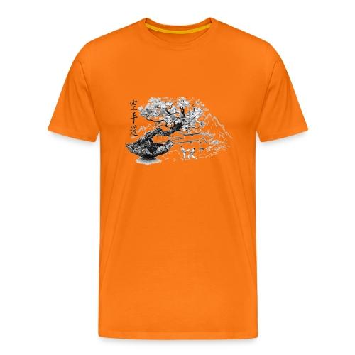TempleKARATE TRANSP GIF - T-shirt Premium Homme