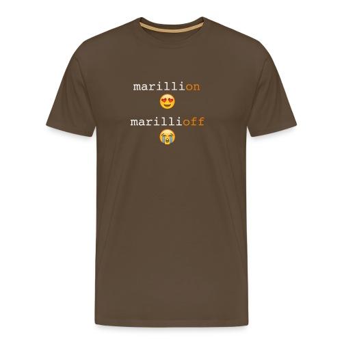 Marillionoff png - Men's Premium T-Shirt