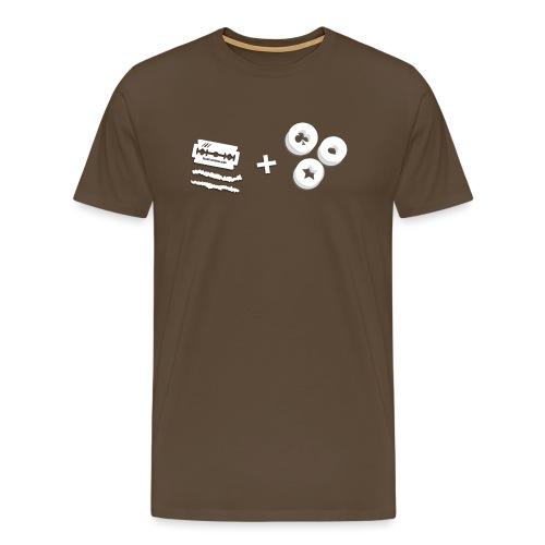 MTeVrede_49_MADEINNL - Men's Premium T-Shirt
