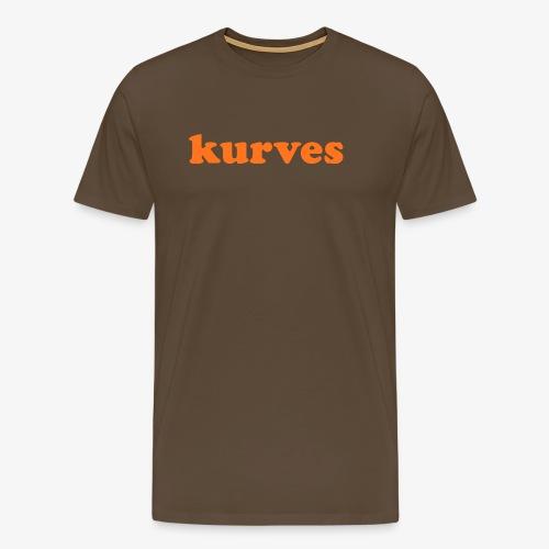 KURVES V - T-shirt Premium Homme