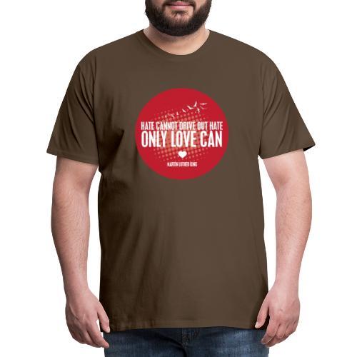 MLK1 png - Men's Premium T-Shirt