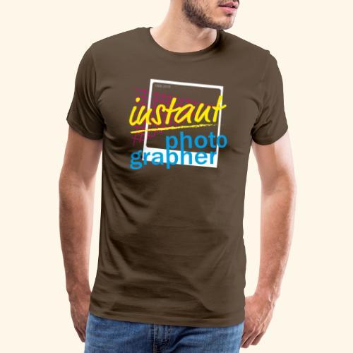 Sofortbild Fotografie - NewRetro - Männer Premium T-Shirt