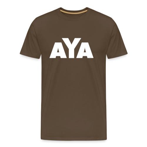 ayaweiss - Männer Premium T-Shirt