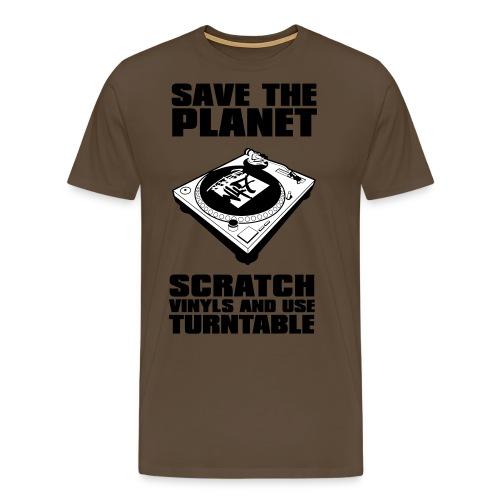 Scratch vinyl n47 - T-shirt Premium Homme