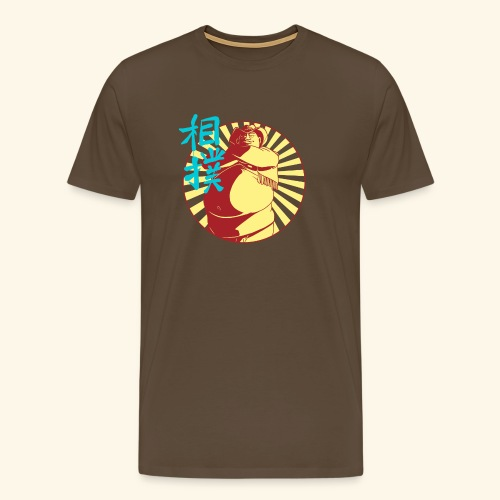 Le Sumo Cowboy - T-shirt Premium Homme