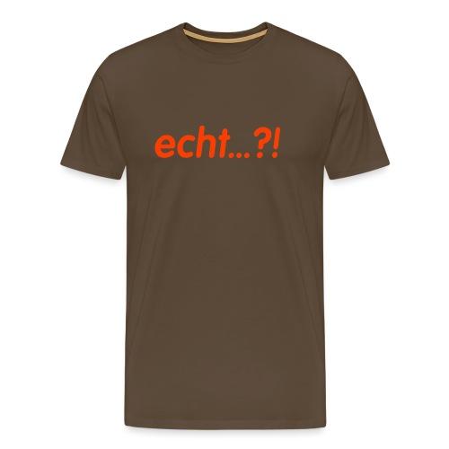 Text 003 - Männer Premium T-Shirt