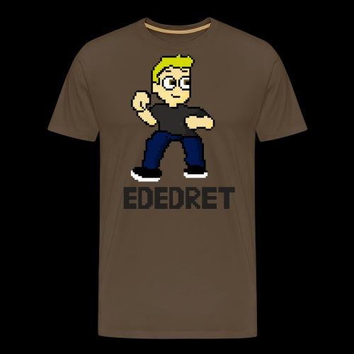 Ededret in grass - Männer Premium T-Shirt
