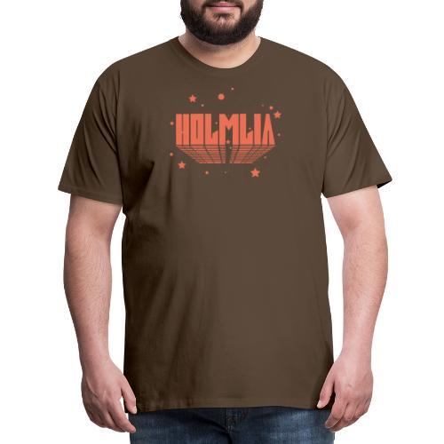 COSMIC HOLMLIA RED - Premium T-skjorte for menn