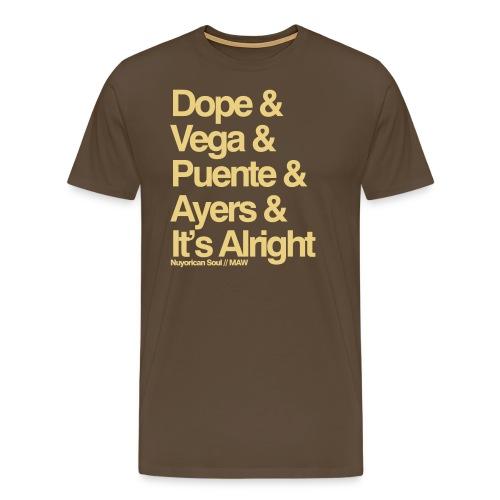 MAW white - Men's Premium T-Shirt
