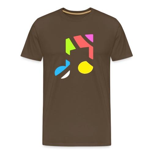CurveRadioLogoWhite - Men's Premium T-Shirt