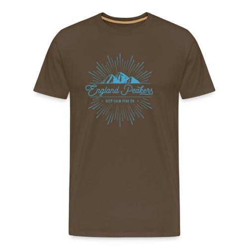 England Peakers Light blue - Men's Premium T-Shirt