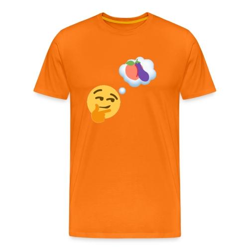 Johtaja98 Emoji - Miesten premium t-paita