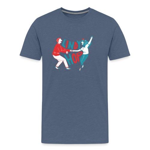 Lindy hop - Men's Premium T-Shirt
