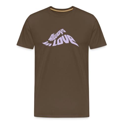 in Love Liebe Herz Heart JGA Valentinstag - Men's Premium T-Shirt