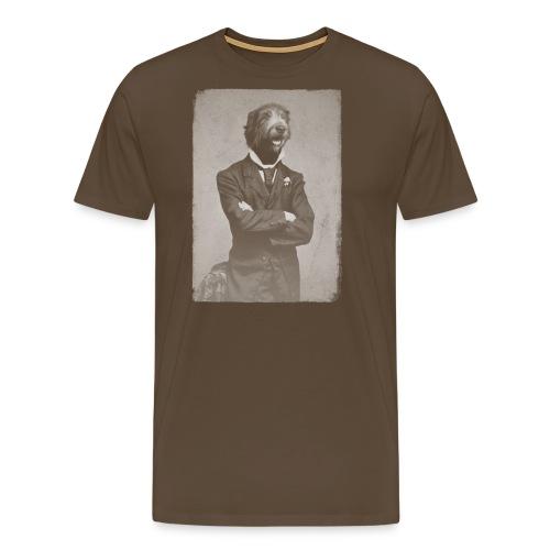 Gentleman wolfhound - T-shirt Premium Homme