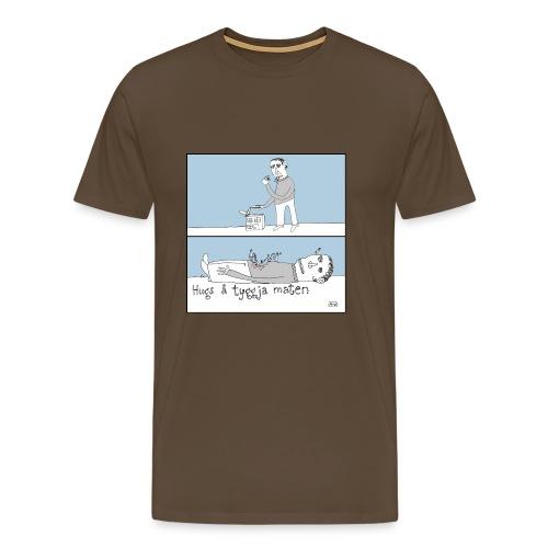 08 etamannen - Premium T-skjorte for menn