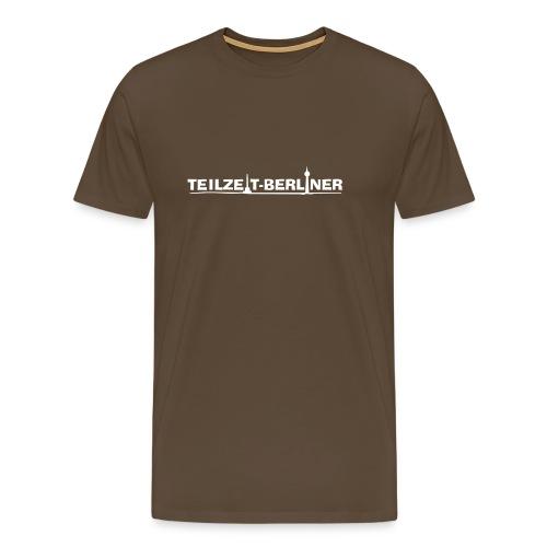 Teilzeit-Berliner - Männer Premium T-Shirt