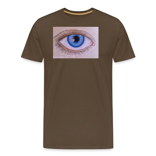 Blue eye - Männer Premium T-Shirt