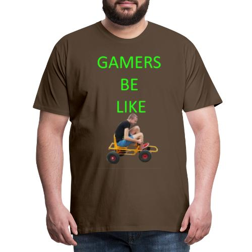 KrestenDesign #1 - Herre premium T-shirt