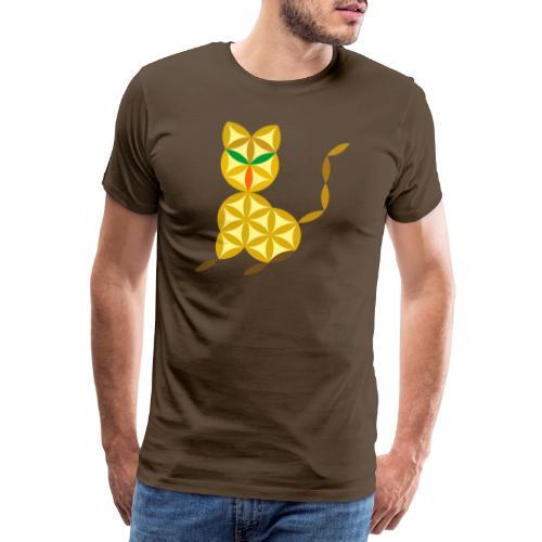 The Kitten Of Life - Sacred Animals - Men's Premium T-Shirt