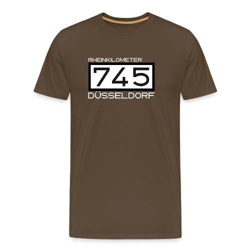 745-RK-Duesseldorf weiss - Männer Premium T-Shirt